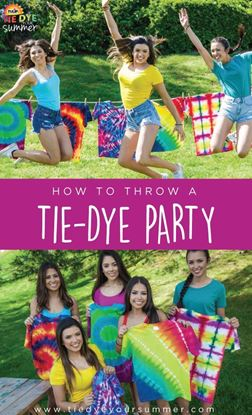 Picture of How To Throw A Tie-Dye Party