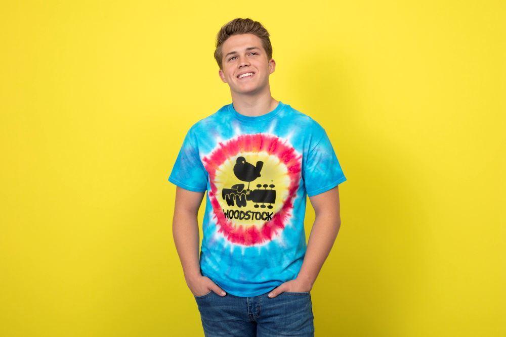 Woodstock Psychedelic Tie-Dye T-shirt