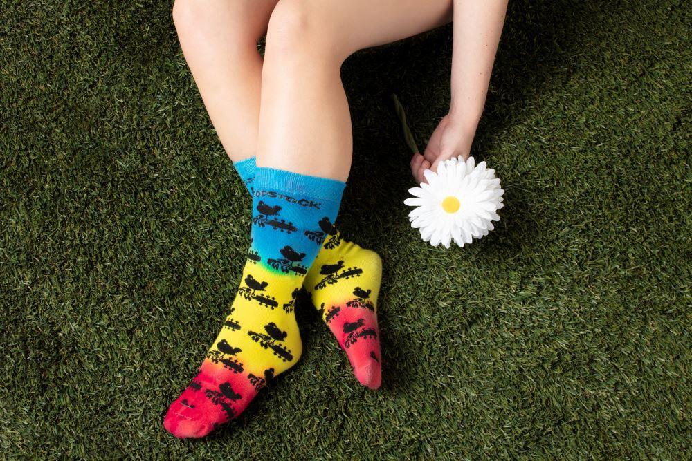 Woodstock Tie-Dye Socks
