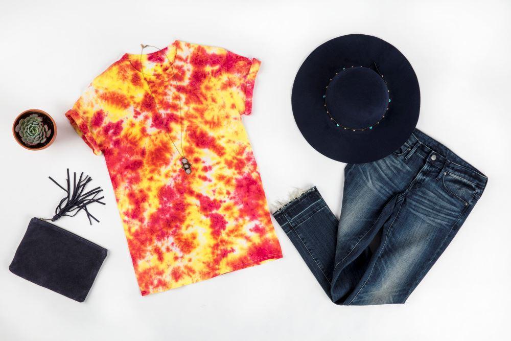 Crumple Tie-Dye T-shirt
