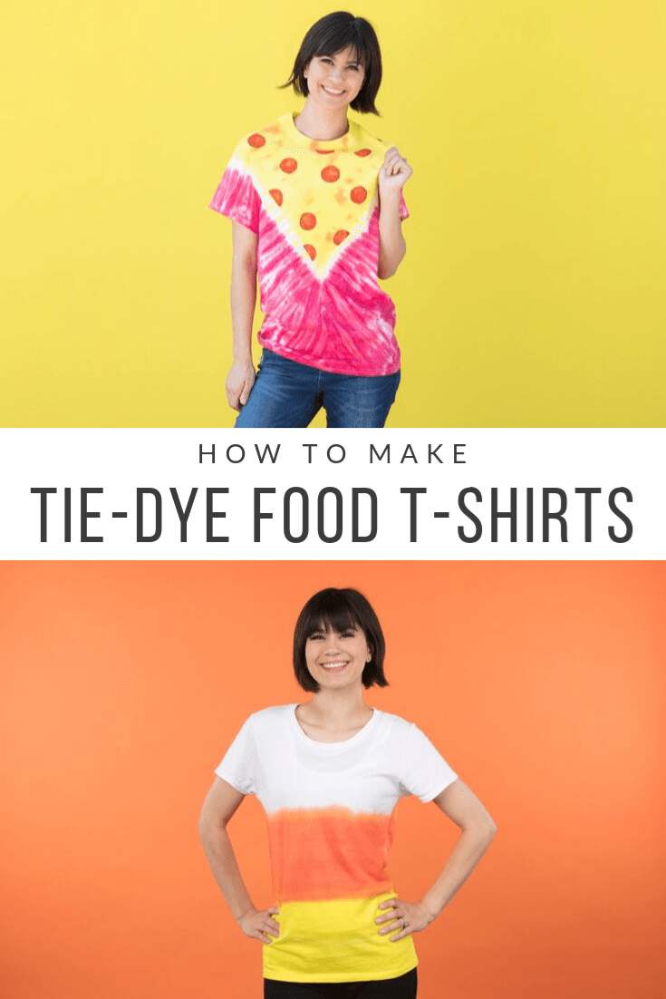 Tulip Tie-Dye Food T-shirts