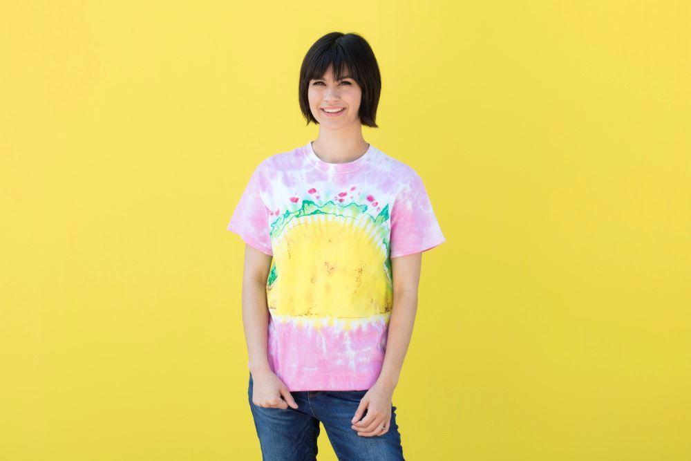 Tulip Taco Tie-Dye T-shirt