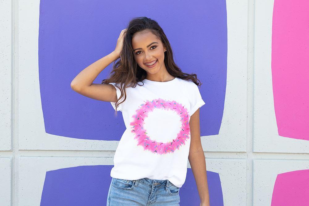 Tulip Donut Tie-Dye T-shirt