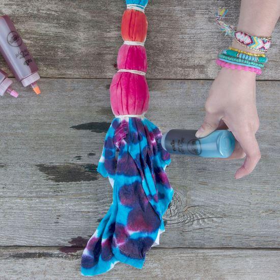 Luau 5-Color Tie-Dye Technique