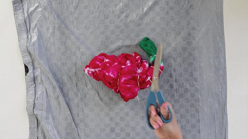 Tulip Tie-Dye Christmas Tree Hoodie