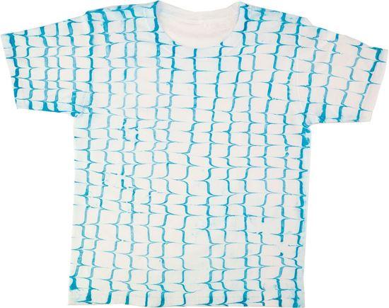 Turquoise Marbling Shirt