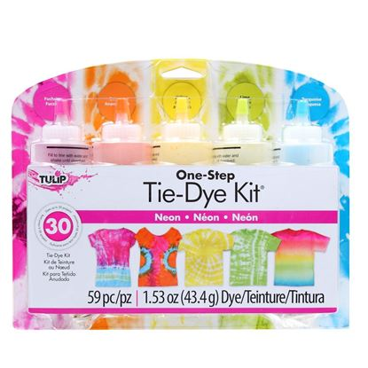 Neon 5-Color Tie-Dye Kit