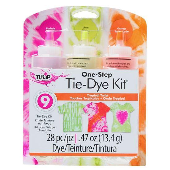 Tropical Twist 3-Color Tie-Dye Kit