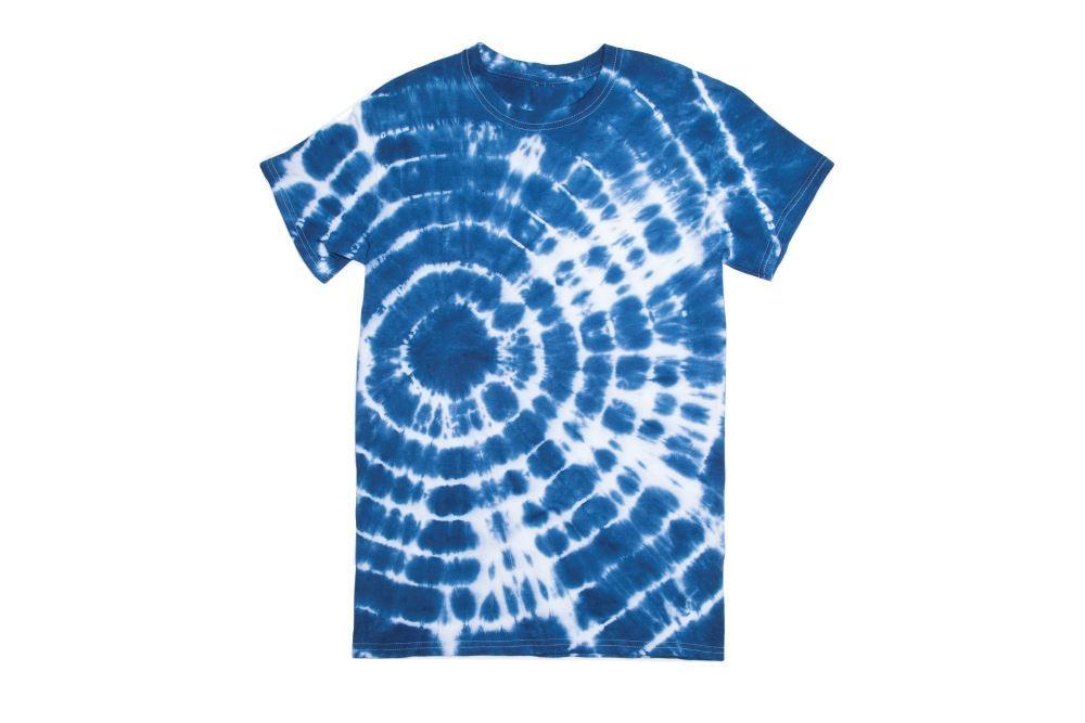 Classic Blue Tie-Dye T-shirt