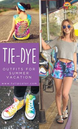 Picture of How to Pack Tie Dye for Summer Vacation
