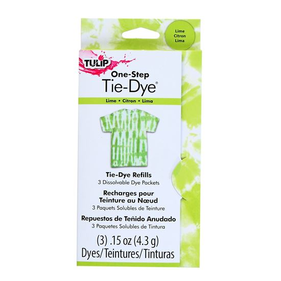 Picture of One-Step Tie Dye Refills Lime