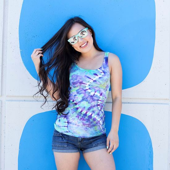 Mermaid Tie-Dye Shirt