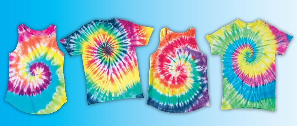 Spiral Tie-Dye Ideas