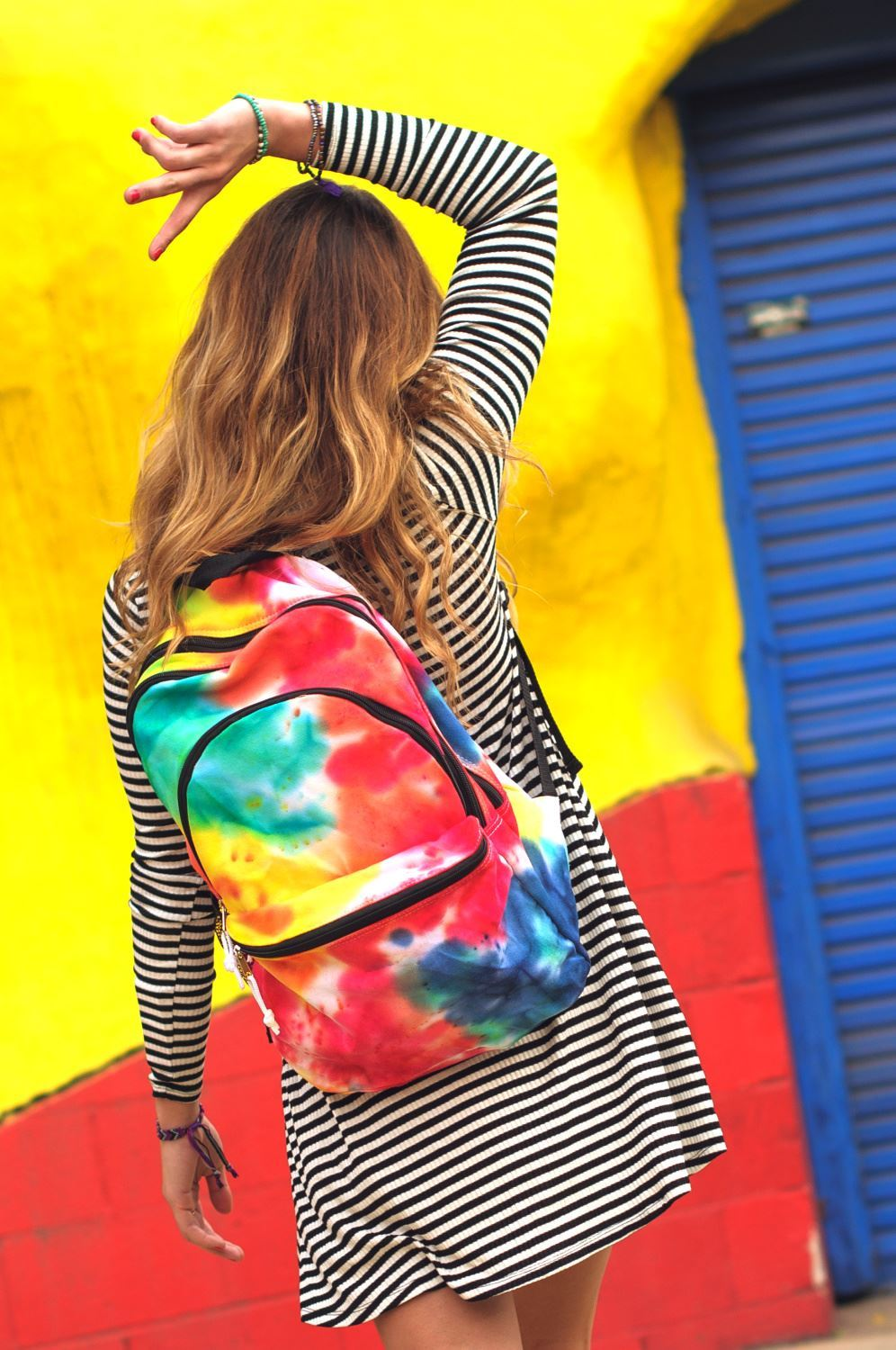 Tie-Dye Backpack