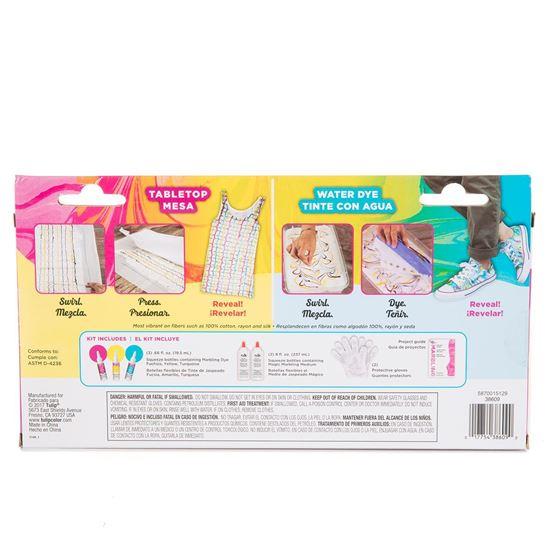 Classic Marbling Dye Kit Backside