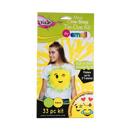 Lime and Yellow Emoji Tie Dye Kit