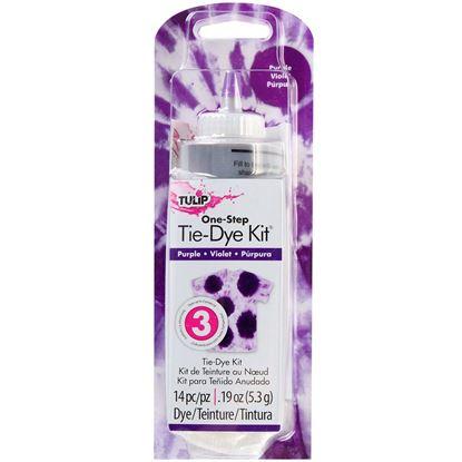 Tulip Purple 1 Color Tie Dye Kit