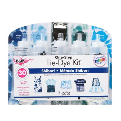 Shibori 5 Color Tie Dye Kit
