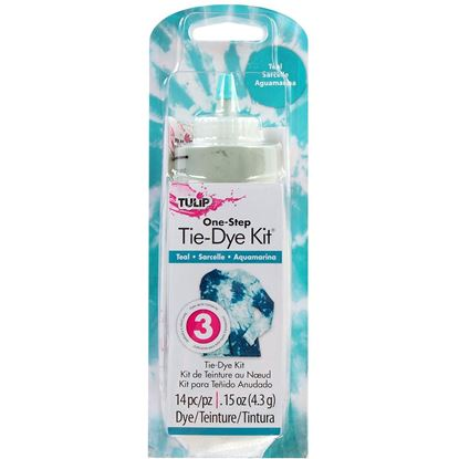 Teal 1 Color Tie Dye Kit
