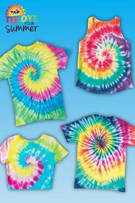 Picture of 7 Spiral Tie-Dye Ideas