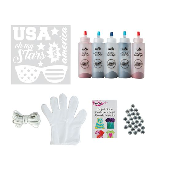 Picture of Tulip® One-Step Tie-Dye Kit Americana