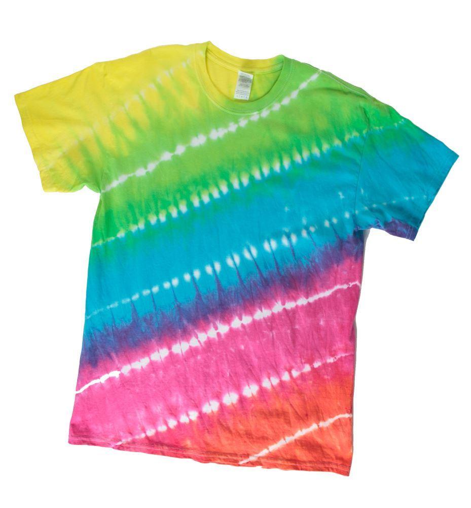 Super Big Stripe Tie-Dye T-shirt