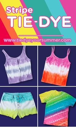Picture of 5 Stripe Tie-Dye Ideas