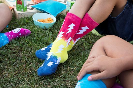 Picture of Tulip® Adult Crazy Socks Bolts
