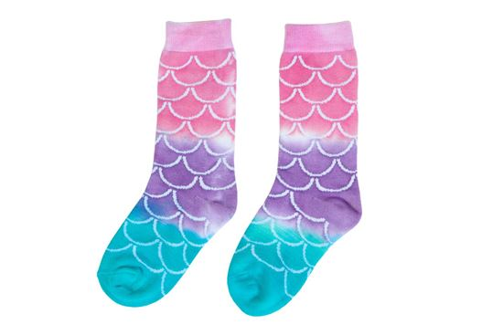 Picture of Tulip® Adult Crazy Socks Mermaid