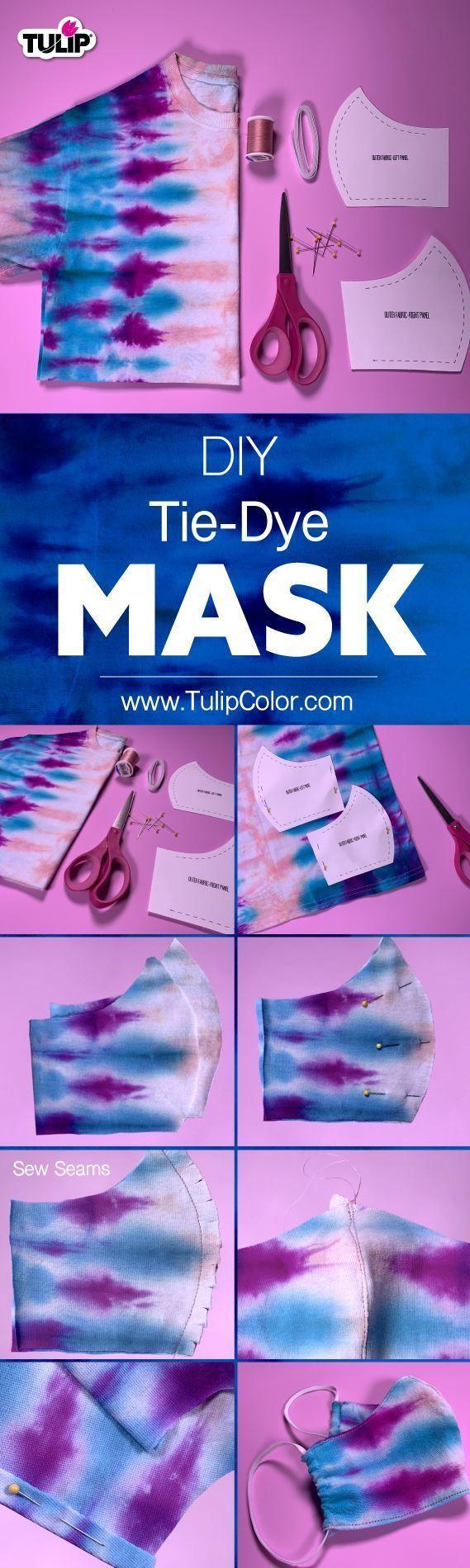 Tulip DIY Tie-Dye Face Mask