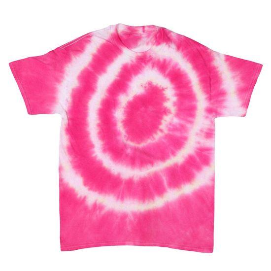 Fuchsia Tie Dye T-shirt