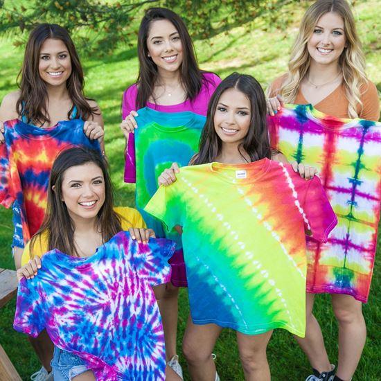 Tie-Dye Party Shirts