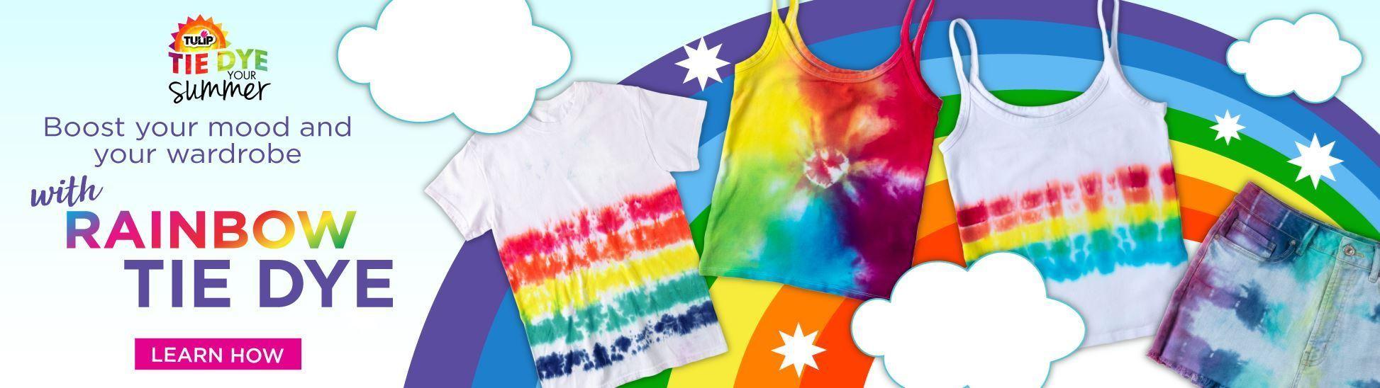 Image Rainbow Tie Dye