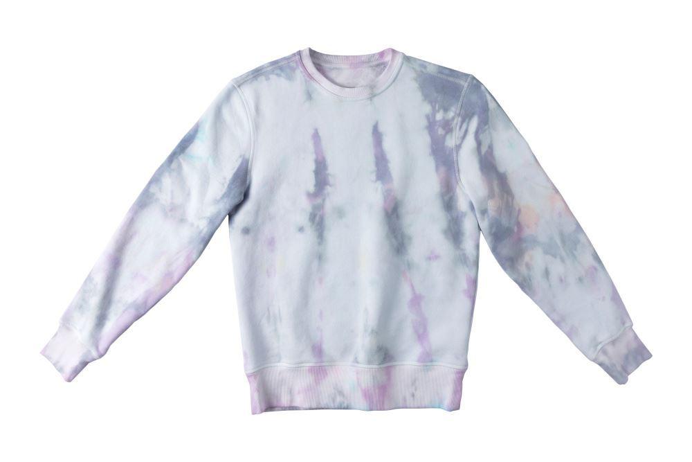 Ice Dye Pastel Tie-Dye Sweatshirt