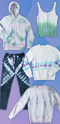 Picture of Comfort Zone: DIY Tie-Dye Loungewear