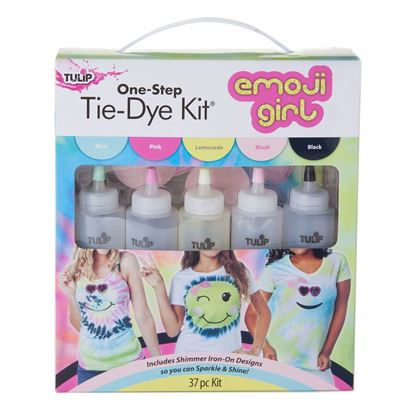 Emoji Girl Tie-Dye Kit