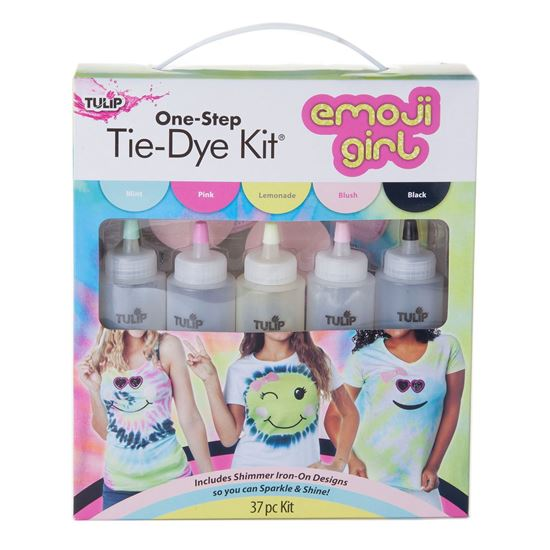 Emoji Girl Tie-Dye Kit