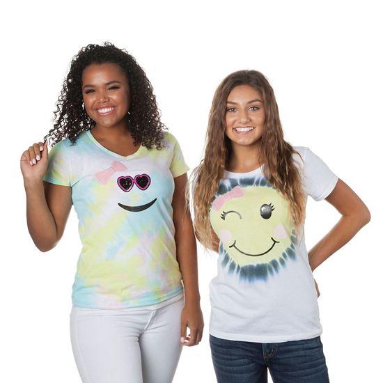 Emoji Girl Tie-Dye Kit Shirts