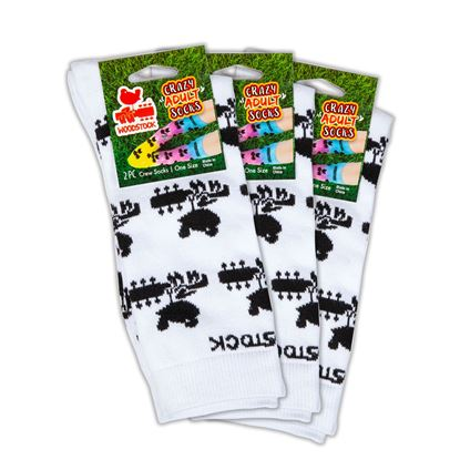 Picture of Woodstock Adult Crazy Socks 3 Pack