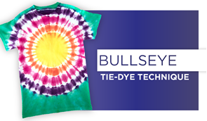 Bullseye Tie-Dye Technique