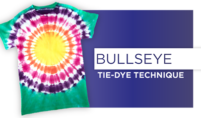 bullseye-tie-dye-technique