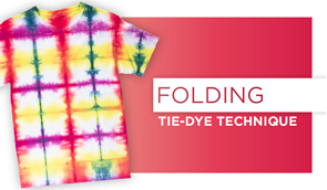 Folding Tie-Dye Technique