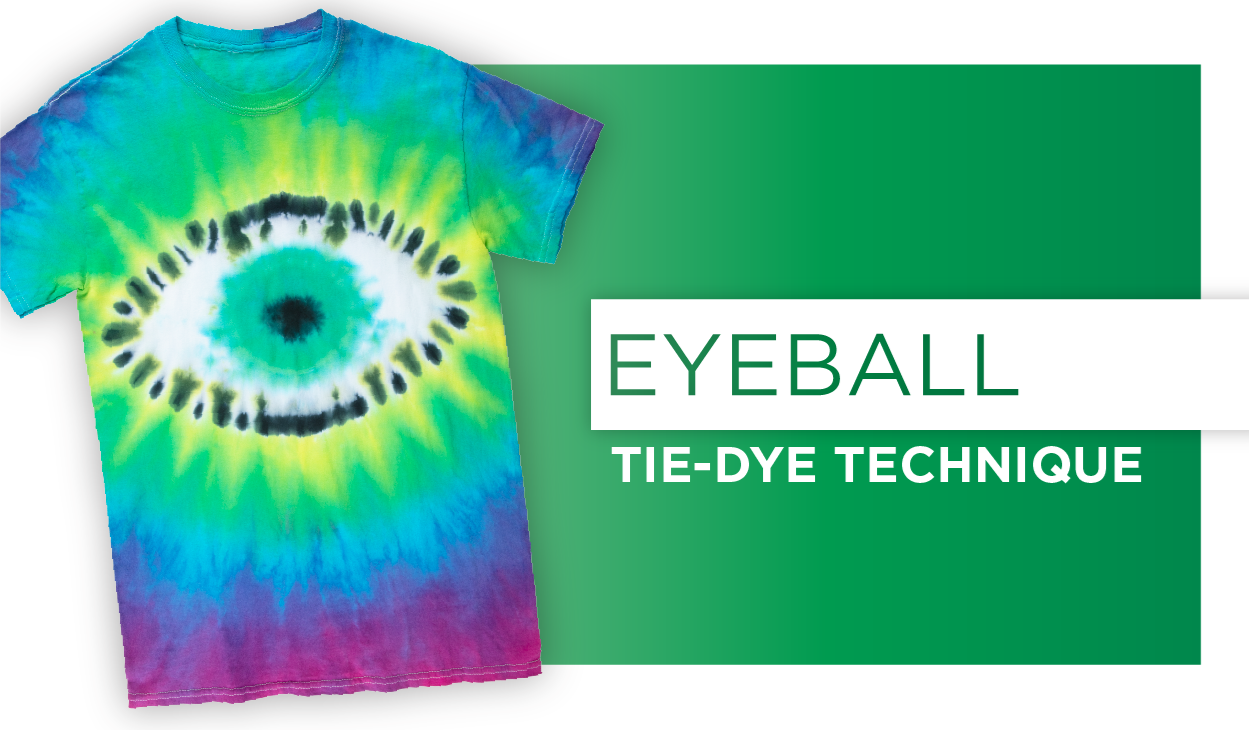 Picture of Eyeball Tie-Dye Technique