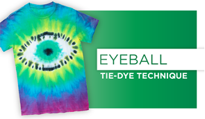Eyeball Tie-Dye Technique