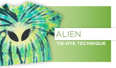 Alien Glow Tie-Dye Technique
