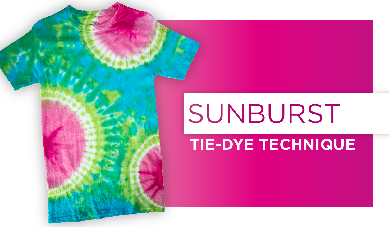 Picture of Sunburst Tie-Dye Technique