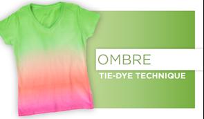 Ombre Tie-Dye Technique