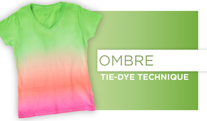 Ombre Tie-Dye Technique How-To