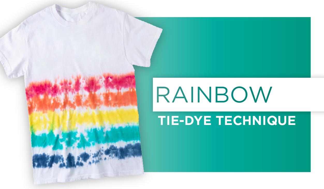 How to make Rainbow Tie-Dye