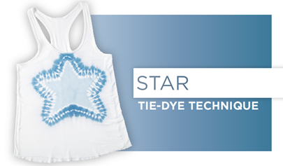 Star Tie-Dye Technique